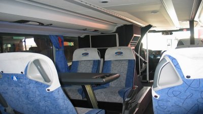 pulizia interni bus